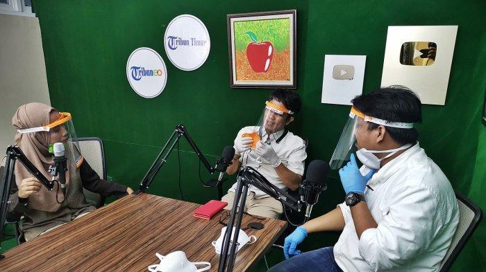 FOTO: Dekan FTI UMI Berbagi Cerita Tentang Masker 3D di Podcast Tribun Timur - dekan-fakultas-teknologi-indu3.jpg