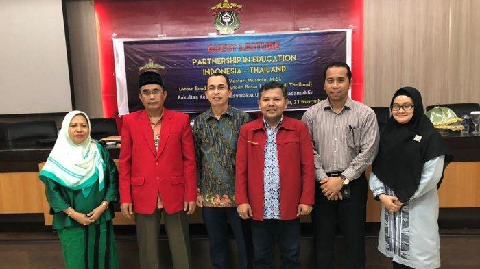 Atase Pendidikan KBRI di Thailand  Bawakan Kuliah Umum di Unhas