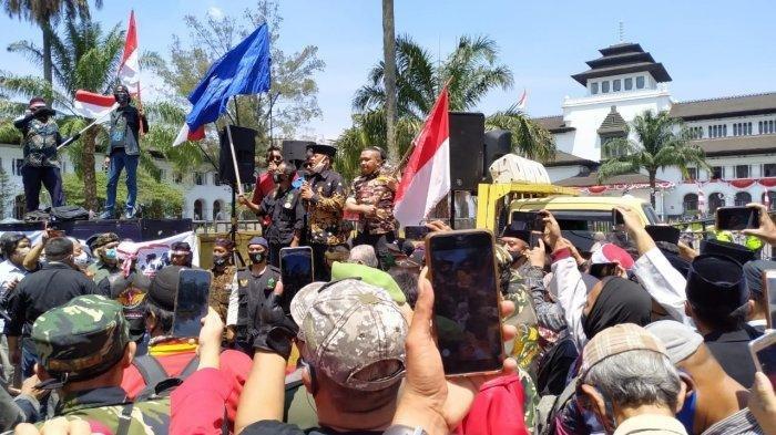 Inilah Sosok yang Menolak Deklarasi KAMI yang Dihadiri Gatot Nurmantyo di Bandung, Minta Dibubarkan