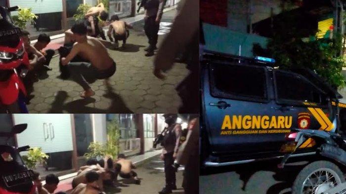 Delapan Pelaku Tawuran di Jl Barukang Makassar Ditangkap