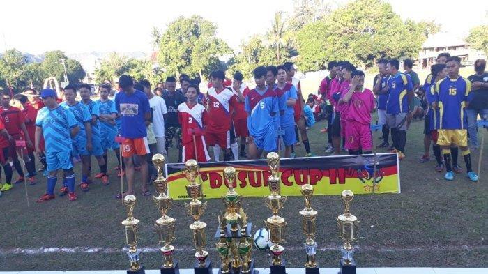 Ini Delapan Tim Ramaikan Turnamen Dusun Cup II Pemuda Desa Kabba