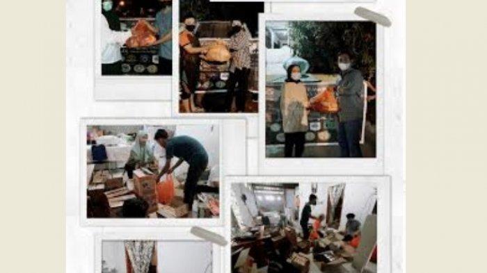 Dema dan Aliansi HMJ FTK UIN Alauddin Salurkan Sembako ke Korban Gempa Sulbar
