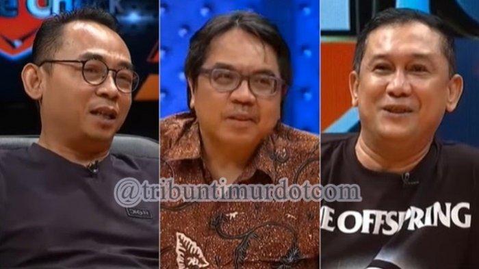 Denny Siregar, Eko Kuntadhi, dan Ade Armando Berani Sumpah Tak Dibayar Pihak Istana atas Cuitannya