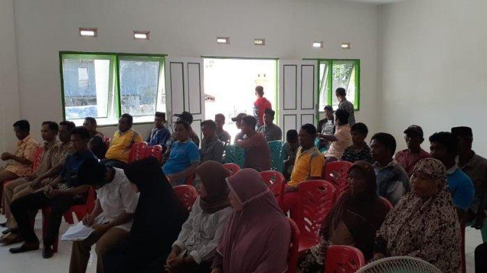 Pemerintah Desa Sabalana Pangkep Musrembang Tahun2020
