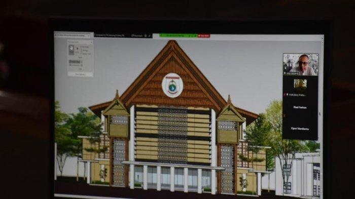 Kantor Baru Gubernur Sulbar Bakal Jadi Ikon Tanah Malaqbi, Ada Perpaduan Mandar, Mamasa & Kalumpang