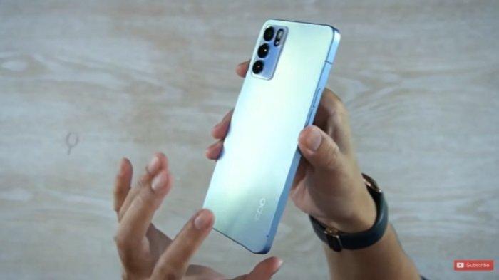 Desain Oppo Reno6 5G yang disebut-sebut mirip iPhone. Segera masuk Indonesia