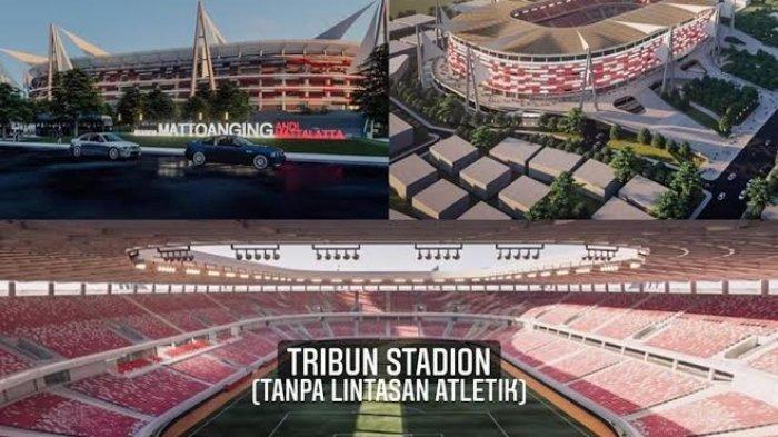 Kadispora Sulsel Pamer Desain Stadion Mattoanging
