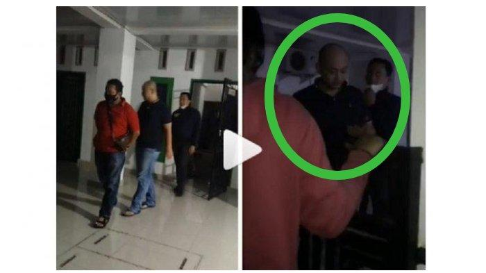 Detik-detik Penganiaya Perawat RS Siloam Ditangkap, Ekspresi Disorot, Marah Meski Korban Berlutut