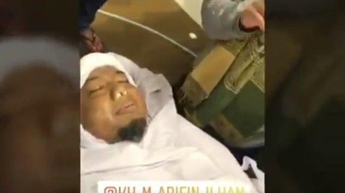 Kesaksian Sahabat di Detik-detik Ustaz Arifin Ilham Sakratul Maut, Bibirnya Bergerak