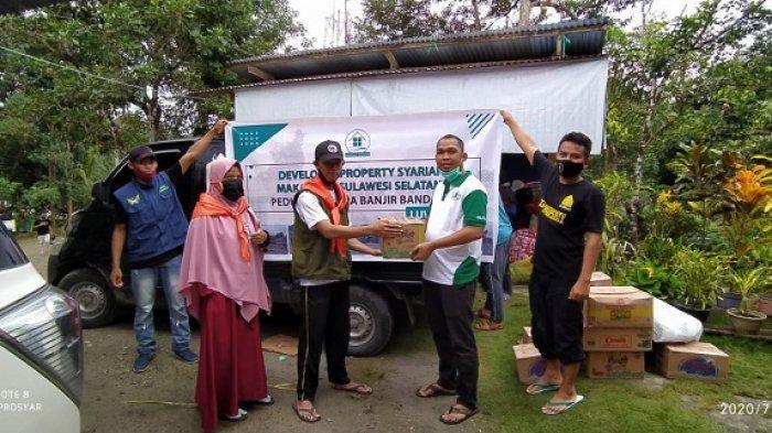 Property Syariah Percayakan MDMC Kelola Bantuan Bagi Korban Banjir Luwu Utara