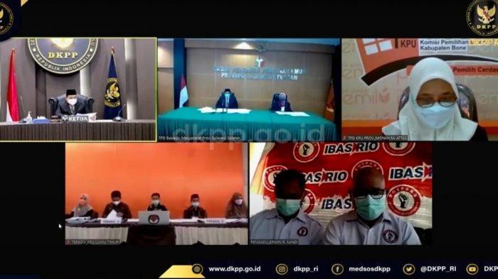 Salah Tulis Nama Thorig Husler, DKPP Periksa 5 Komisioner KPU Lutim