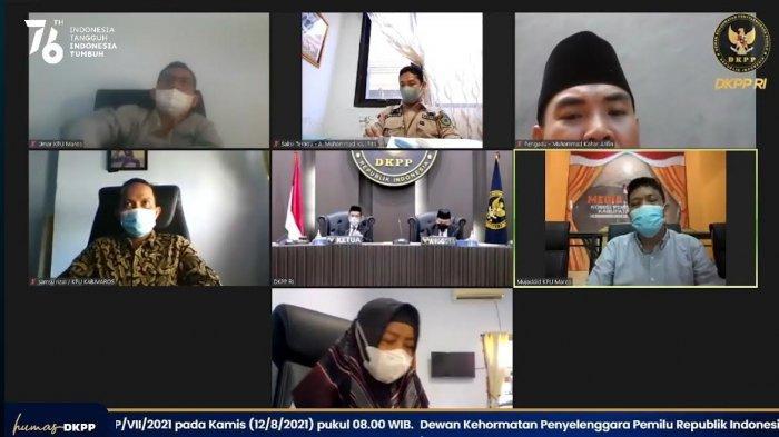 Dituding Arogan, Begini Pembelaan Anggota KPU Maros Saat Sidang Virtual di DKPP