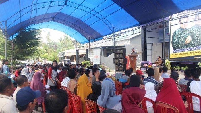 Prof Akbar Silo Perkenalkan Pasangannya di Pilkada Selayar