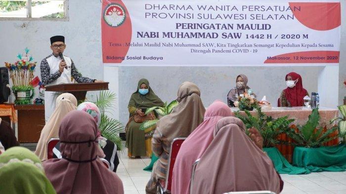 DWP Provinsi Sulsel Peringati Maulid Nabi Muhammad SAW
