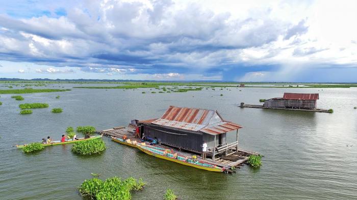 Awal Agustus, Lomba Hias dan Balapan Perahu di Danau Tempe