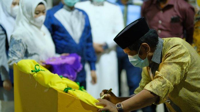 Usai Cuti Kampanye, Bupati Soppeng Resmikan SPBU Liliriaja