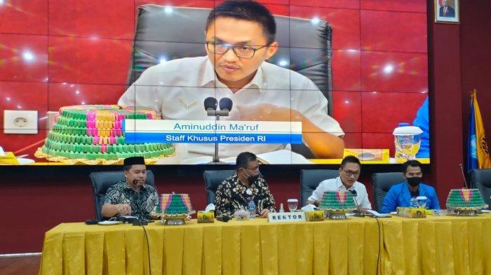 Stafsus Presiden Puji UNM: Kampus Pencetak Pemuda Hebat Indonesia