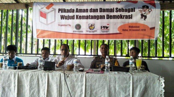 Bahas Pilkada Damai, Ketua PPI Sesalkan KPU Sulsel
