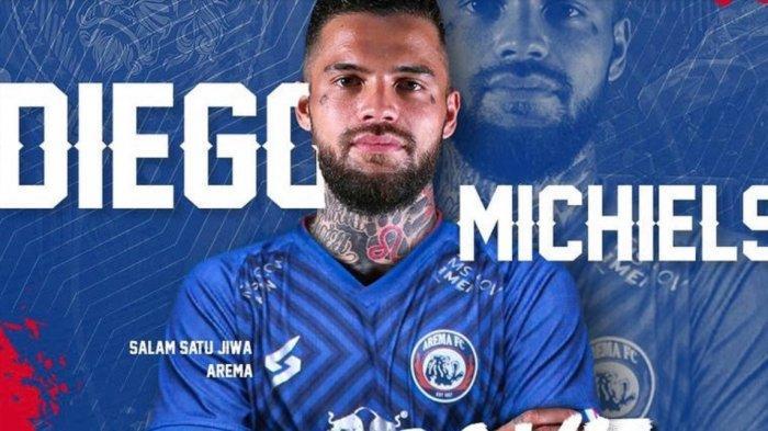 Resmi ke Arema FC Diego Michiels Gagal Lagi Perkuat PSM, Pengamat: Bek Sayap Menumpuk