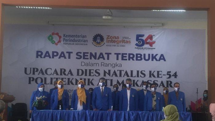 Peringati Dies Natalis ke-54, Politeknik ATI Makassar Rapat Senat Terbuka