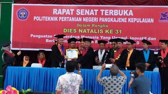 Dies Natalis ke-31 Politani Pangkep, Guru Besar UI Prof T Basaruddin Ajak Dosen Kembangkan Start Up