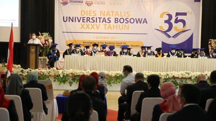Dies Natalis ke-35 Unibos: Komitmen Jadi Institusi Pendidikan Berdaya Saing dan Berkualitas