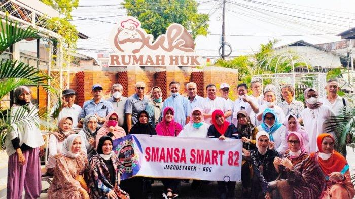 Alumni SMAN 1 Makassar Smart 82 Wilayah Jabodetabek-Bandung Halal Bihalal di Huk Family Resto