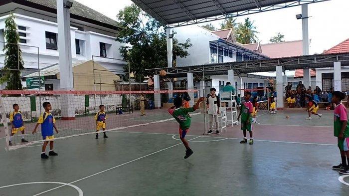 Dinas Kepemudaan dan Olaharga (Dispora)bekerjasama dengan PSTI  Selayar melaksanakan kejuaraan sepak takraw