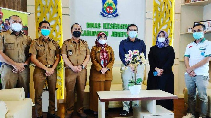 Kontrol Kasus Penyakit Kusta di Jeneponto, Direktur National NRL Indonesia Kunjungi Dinkes
