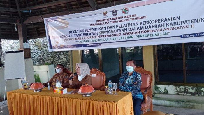 160 Pengurus Koperasi di Kabupaten Enrekang Dilatih Manajemen Usaha dan Keuangan