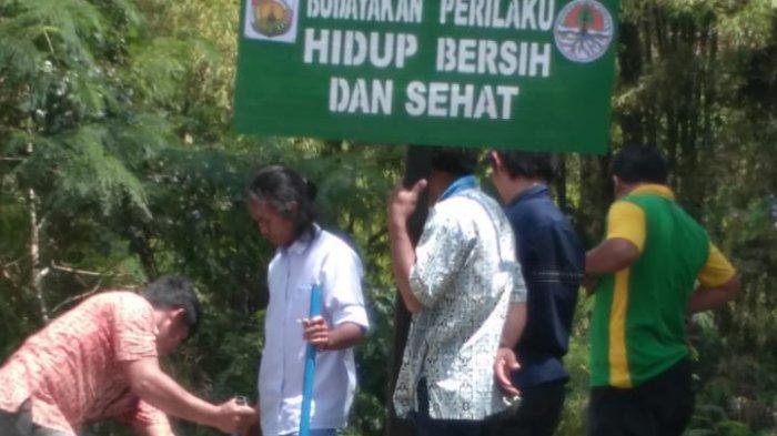 Dinas Lingkungan Hidup Toraja Utara Pasang Titik Imbauan Perangi Sampah