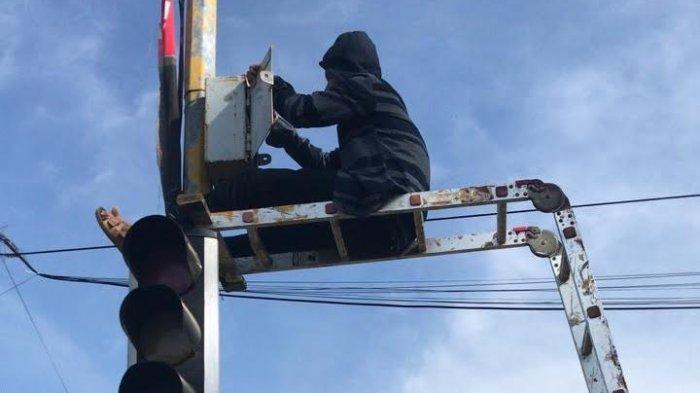 Traffic Light yang Rusak di Malili Sudah Diperbaiki