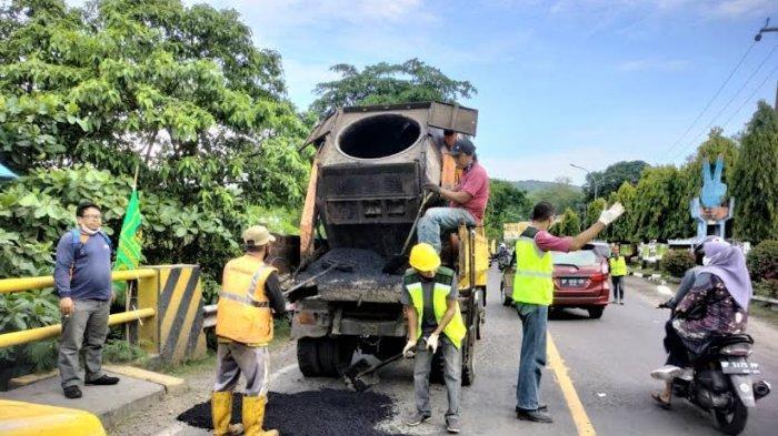 Dikeluhkan Warga, Pemkot Parepare Benahi Ruas Jalan Trans Sulawesi