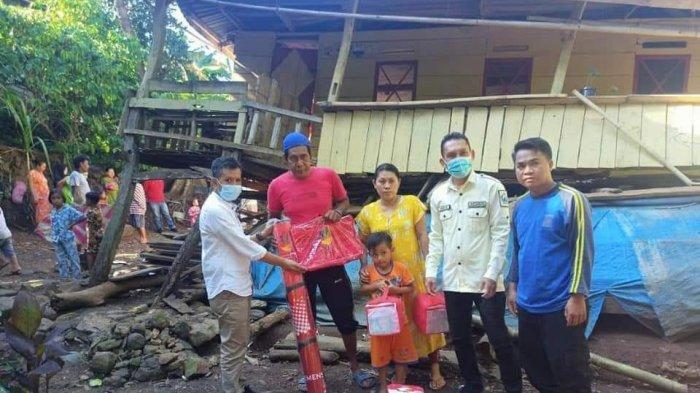 Diterjang Angin Kencang, Satu Rumah Roboh di Desa Bonto Tiro Bantaeng