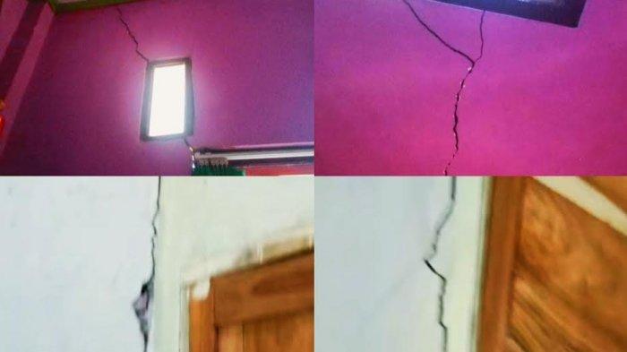 Dinding Rumah Warga Retak, Diduga Dampak Peledakan di PT Malea Tana Toraja