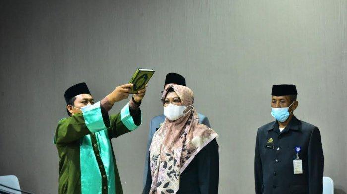 Gantikan Hasnani, Sahriah Usman Jabat Direktur RS Nene Mallomo Sidrap