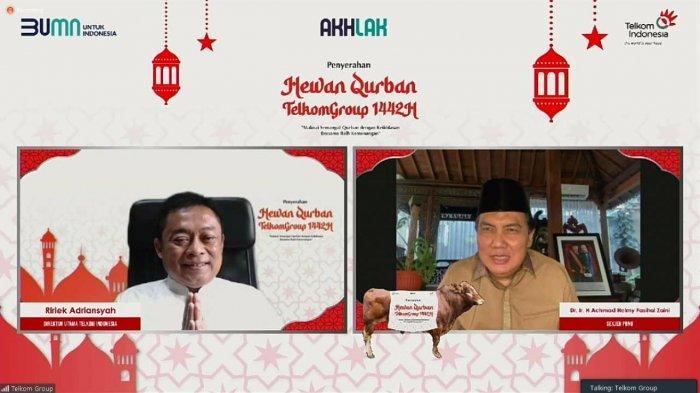 Telkom Group Salurkan 800 Hewan Kurban di Seluruh Indonesia
