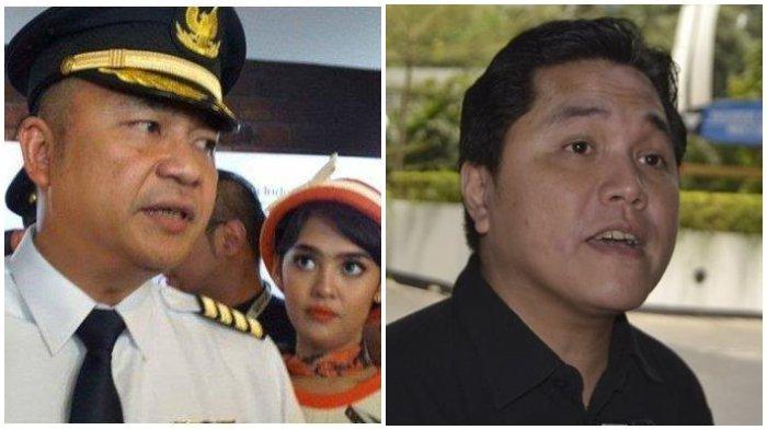 Eks Dirut Garuda Indonesia Ari Askhara Lawan Erick Thohir? Hingga IKAGI Respon Skandal Pramugari