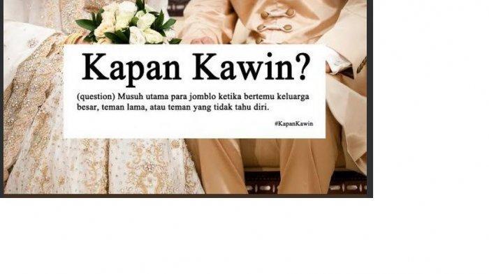 Ditanya 'Kapan Nikah' Ini 6 Jawaban Ngeles Agar Moodmu Tetap Sweet di Hari Raya Idul Fitri 1440 H