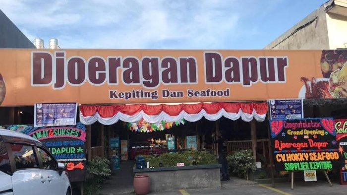 Djoeragan Dapur, Restoran Keluarga di Makassar yang Sajikan Menu Seafood yang Khas