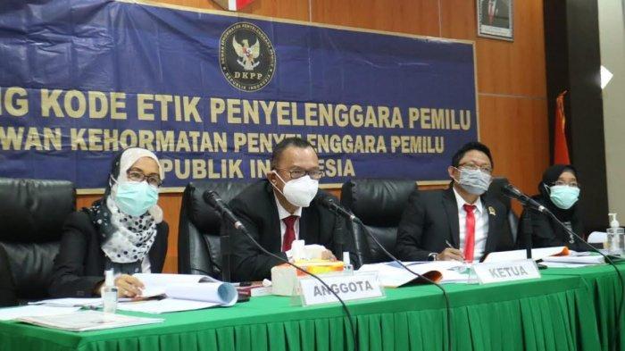 Loloskan Aska Mappe, DKPP Periksa Ketua dan Anggota KPU Kabupaten Barru