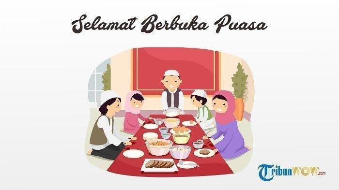 Doa Buka Puasa 14 Ramadhan 1441 H Kamis 7 Mei 2020, Adzan Magrib di Makassar Pukul 17.59 WITA