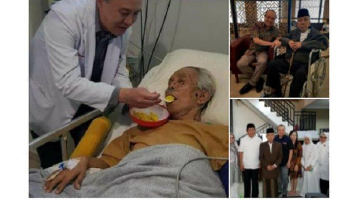 Untaian Ucapan Terima Kasih Para Santri AGH Sanusi Baco kepada dr Bambang Dokter Spesialis Jantung