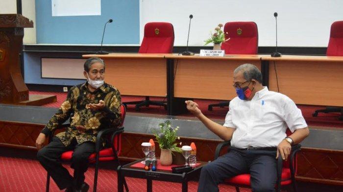 Bupati Sidrap Temui Ketua LP2M Unhas, Bahas Pengembangan Potensi Kerajinan Eceng Gondok