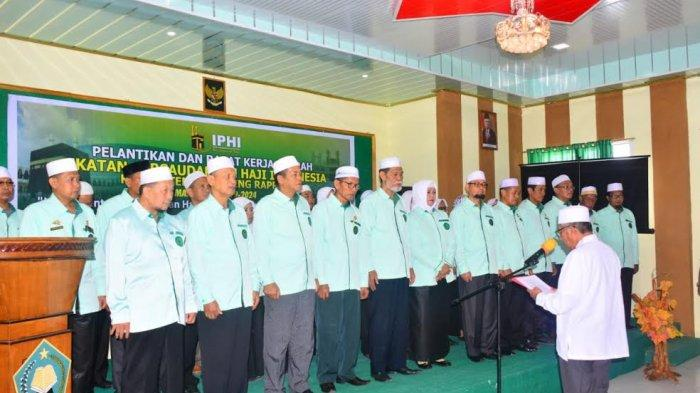 Abu Bakar Deni Pimpin IPHI Sidrap, Begini Harapan Dollah Mando