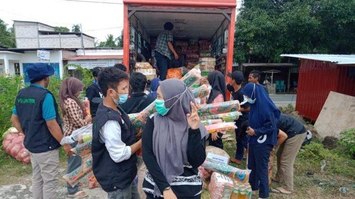 Relawan Solidaritas Jeneponto Bantu Korban Gempa Sulbar