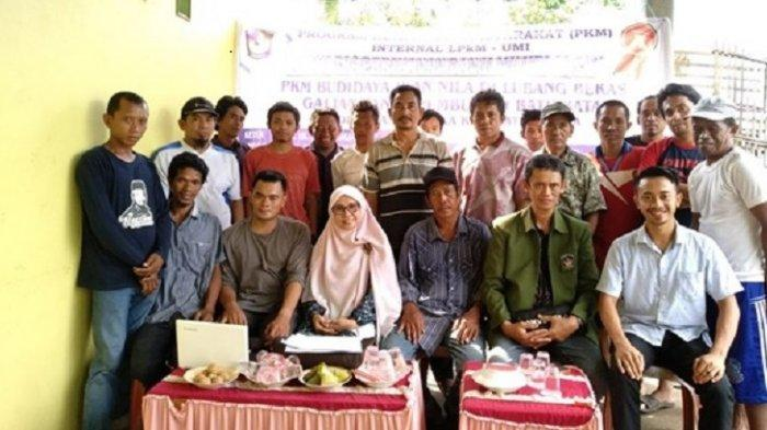 PKM Dosen Fakultas Perikanan UMI Makassar Bantu Warga Gowa Tingkatkan Produksi Ikan Nila