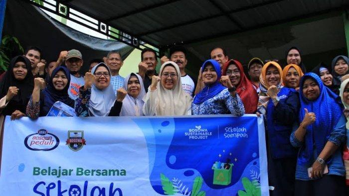 Acara Bosowa Sustainable Project, Dosen Unibos Berbagi Bahaya dan Cara Pengolahan Sampah