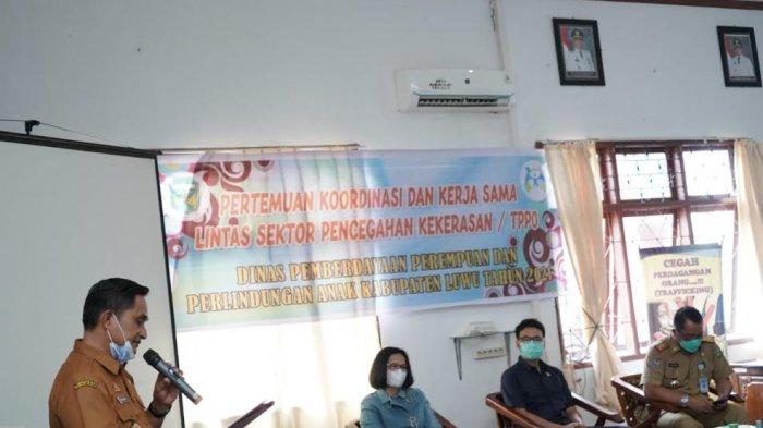 Dinas P3A Luwu Bahas Pencegahan Kekerasan dan Perdagangan Orang