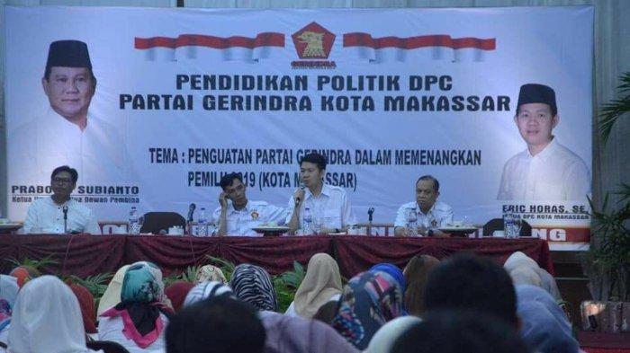DPC Gerindra Makassar Latih Kadernya Jadi Politisi Zaman Now